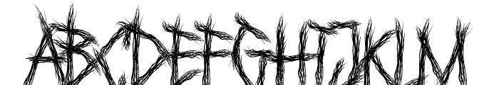 Darkside Font UPPERCASE