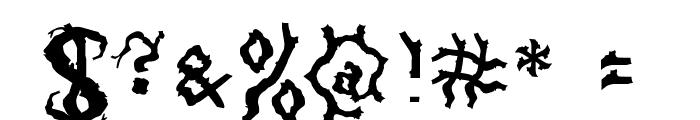 Darkwood Font OTHER CHARS