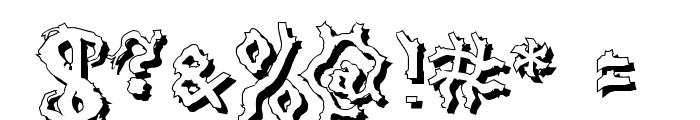 DarkwoodShad2 Font OTHER CHARS