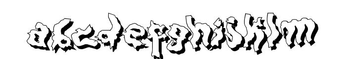 DarkwoodShad2 Font LOWERCASE