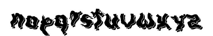DarkwoodShadow Font LOWERCASE