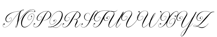Darleston Font UPPERCASE