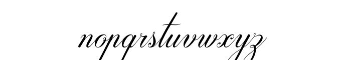 Darleston Font LOWERCASE