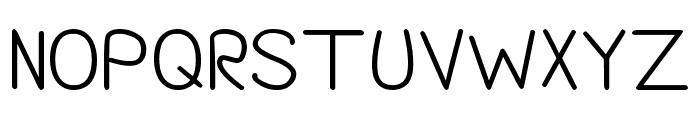 Darlin' Pop Bold Font UPPERCASE