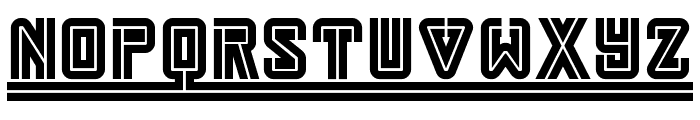 Darmstadt Arts NF Font LOWERCASE