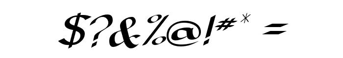 Darwycke Regular Font OTHER CHARS