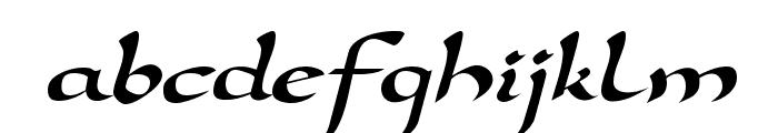 Darwycke Regular Font LOWERCASE
