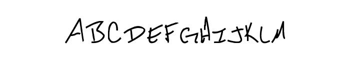 Daryl Short Font UPPERCASE