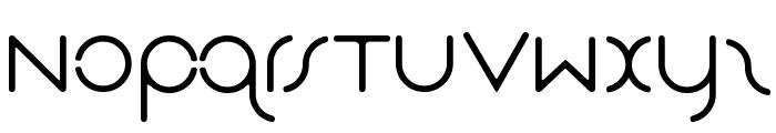 Das Reicht Gut Regular Font LOWERCASE