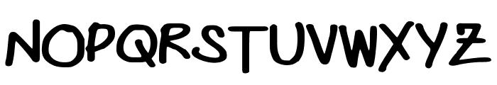 DasBougie Font UPPERCASE