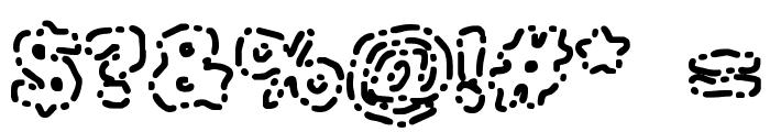 Dash Dot [BRK] Font OTHER CHARS