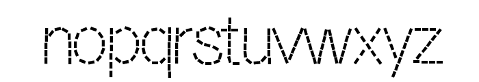 DashNess Font LOWERCASE