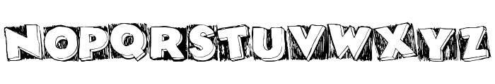 DatBox Font UPPERCASE