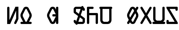 Data Control Unifon Font UPPERCASE