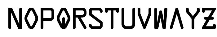 Data Control Unifon Font LOWERCASE