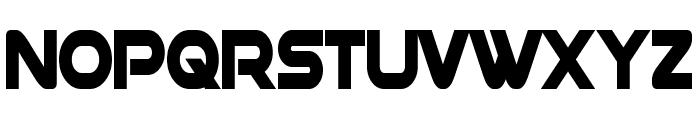 Datacron Condensed Bold Font UPPERCASE