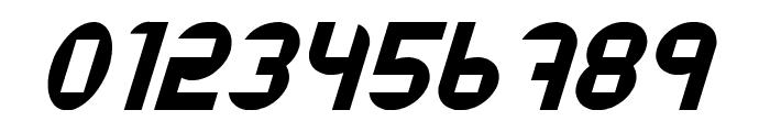Datacut Italic Font OTHER CHARS