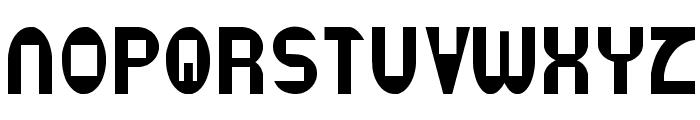 Datacut Font UPPERCASE