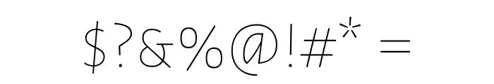 Datalegreya Gradient Font OTHER CHARS