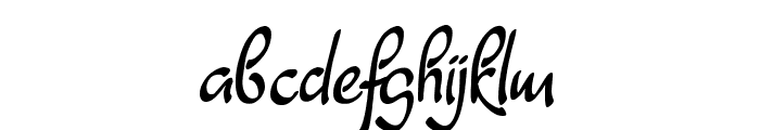 Dathyn Demo Font LOWERCASE