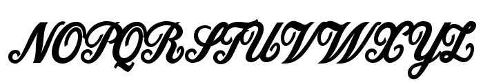 Dattermatter Bold Persoinal Use Regular Font UPPERCASE