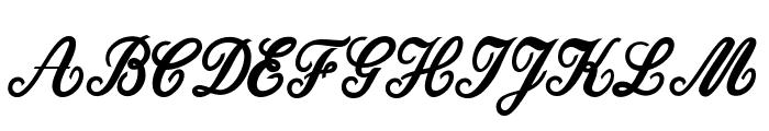 Dattermatter Personal Use Regular Font UPPERCASE