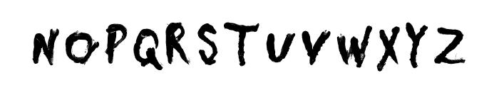 Daubmark Font UPPERCASE