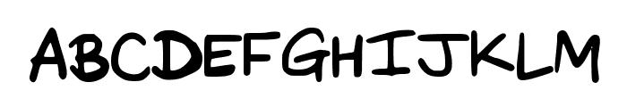 DaveysDoodleface Font UPPERCASE