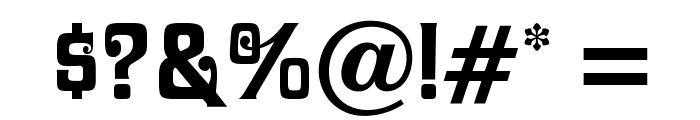 DavidaOpti-Bold Font OTHER CHARS
