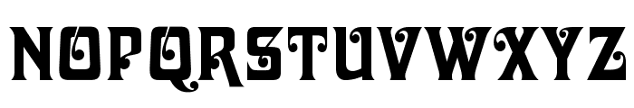 DavidaOpti-Bold Font UPPERCASE