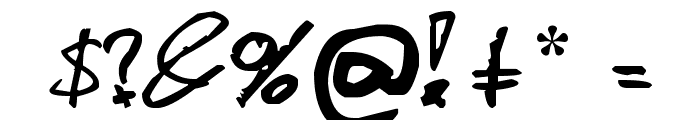 Davidcito Font OTHER CHARS