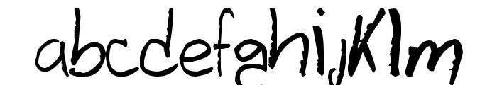Davidcito Font LOWERCASE