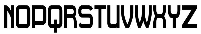 Daville Condensed Font UPPERCASE