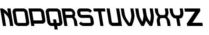 Daville Rev Slanted Font UPPERCASE