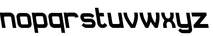 Daville Rev Slanted Font LOWERCASE