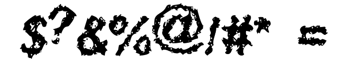 Davy Jone's Locker Font OTHER CHARS