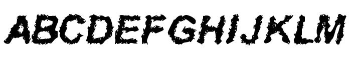 Davy Jone's Locker Font UPPERCASE