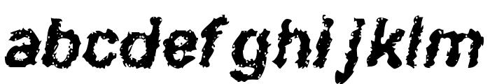 Davy Jone's Locker Font LOWERCASE
