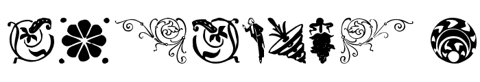 DavysDingbats Medium Font OTHER CHARS