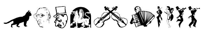 DavysOtherDingbats Font OTHER CHARS