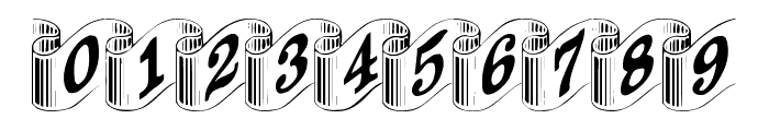 DavysRibbons Font OTHER CHARS
