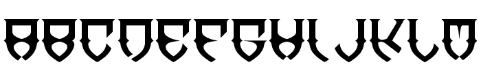 Dawn-of-Mellido Font LOWERCASE