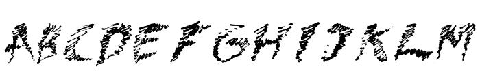 Dawn Font UPPERCASE