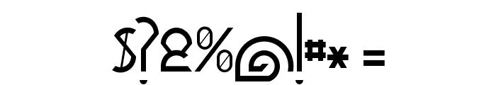 Dawner-Bold Font OTHER CHARS
