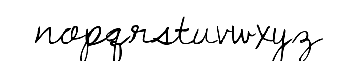 Dawning of a New Day Font LOWERCASE
