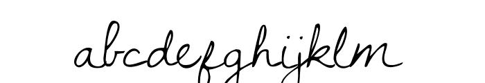 DawningofaNewDay Font LOWERCASE