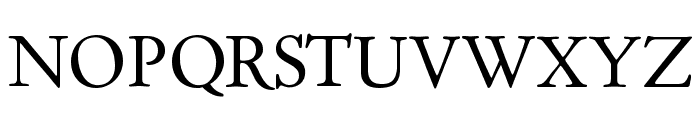 Day Roman Font UPPERCASE
