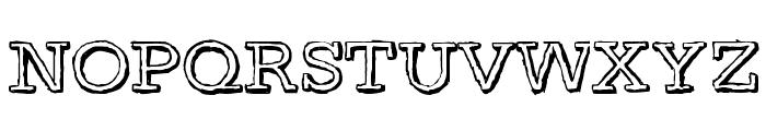 DayLight Font UPPERCASE