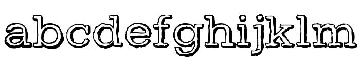 DayLight Font LOWERCASE