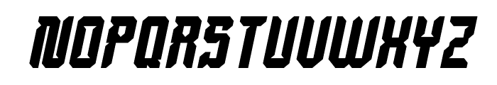 Dayak Shield Bold Italic Font UPPERCASE